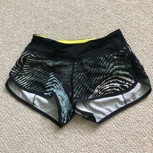 Lululemon Seawheeze speed shorts